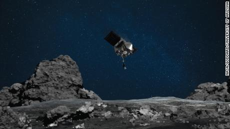 A NASA mission successfully landed on asteroid Bennu