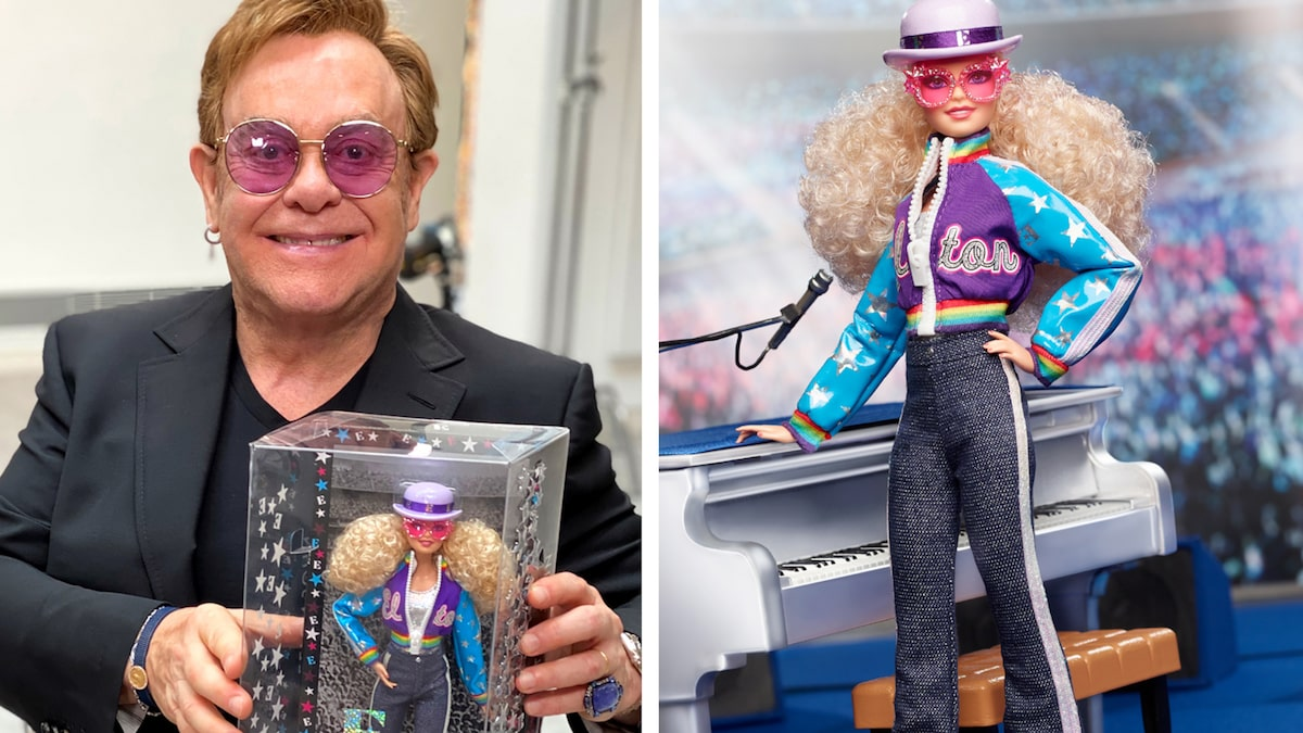 Elton John gets his own Barbie