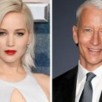 Why Jennifer Lawrence Anderson Cooper ran into a Christmas party