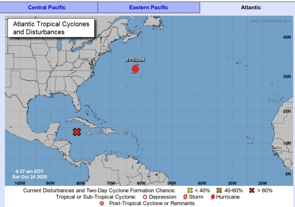 Hurricane Center: Probably a tropical depression, you should keep an eye out for Florida