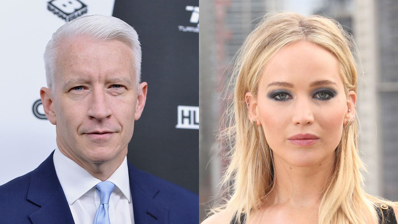 Jennifer Lawrence said she ran into Anderson Cooper after he accused her of dropping the fake Oscars