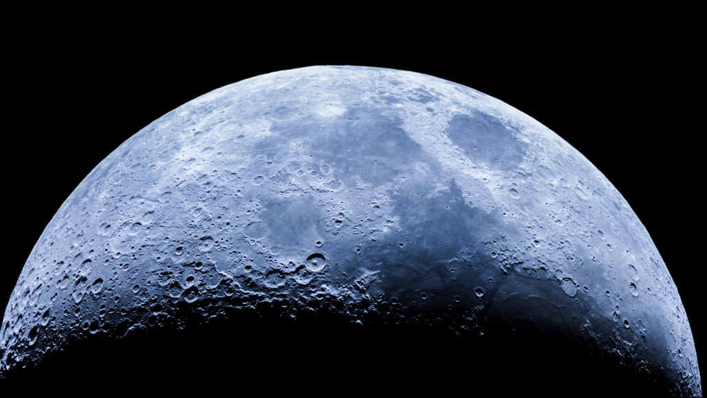 Scientists confirm the presence of water in the sunny parts of the moon