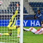 Zapata double saves Atalanta against Ajax in Bergamo