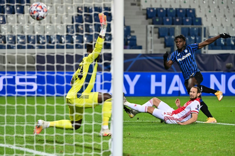 Zapata double rescues Atalanta against Ajax in Bergamo