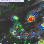 "Quezon County is under ""red alert"" because of ""Rolley"""