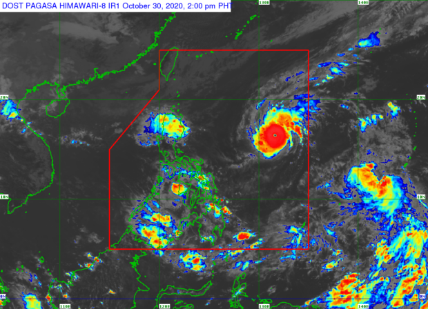 """Quezon County is under """"red alert"""" because of """"Rolley"""""""