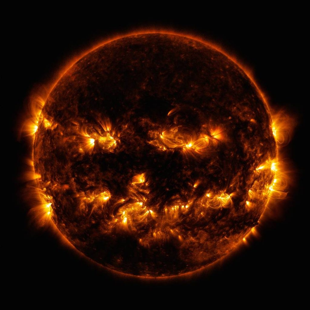 """NASA Releases Halloween Playlist for """"Evil"""" Space Sounds"""