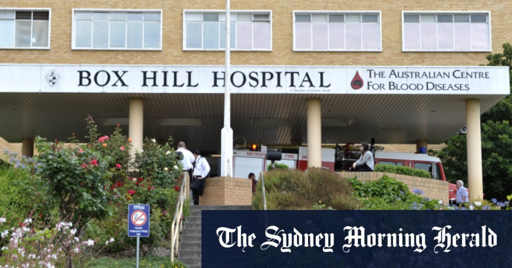 A Box Hill hospital worker caused the outbreak in the northern suburbs