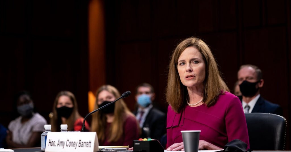 Amy Connie Barrett Hearing: Time, Running and Senate Interrogation