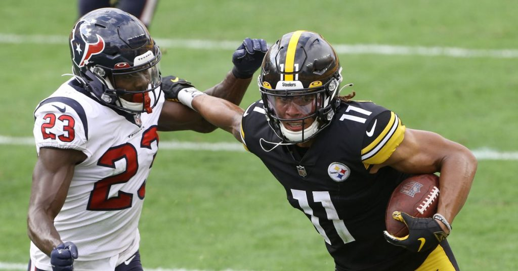 Chase Claypool's fantasy soccer game about start / sit down: What to do with the Steelers WR in Week 6