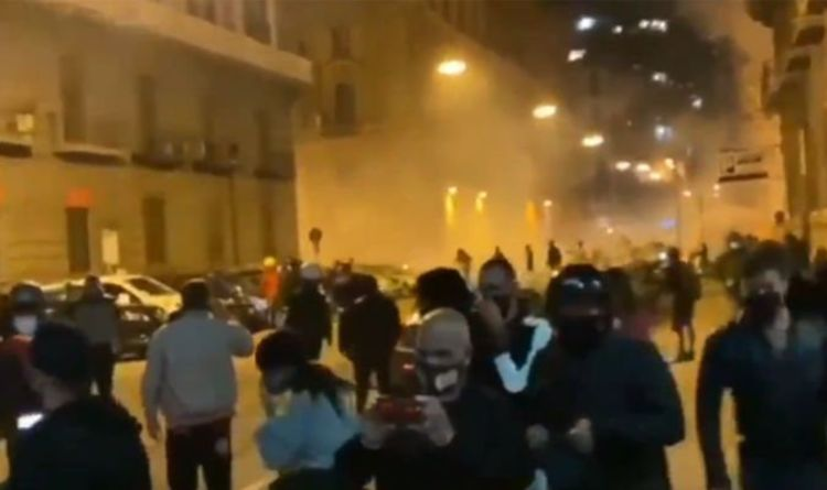 Coronavirus news Naples: Police attacked riots in Naples due to lockdown COVID-19    The world    News