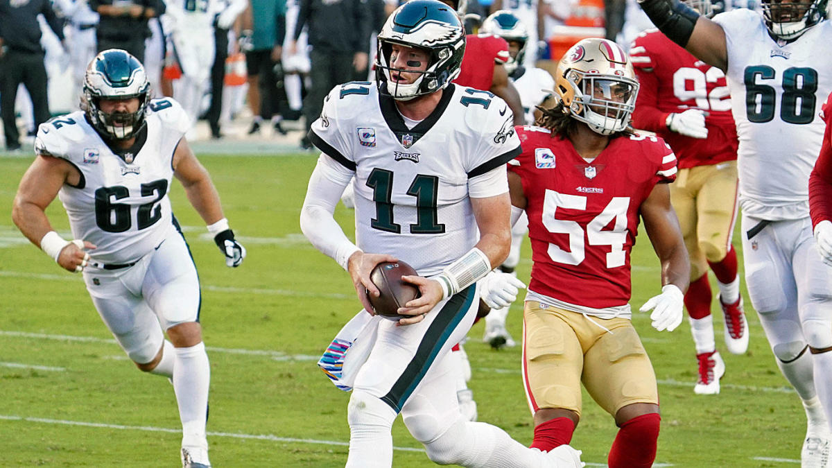 Eagles vs.  49ers: Carson Wentz, Philly Defense advances to disturb San Francisco and top NFC East