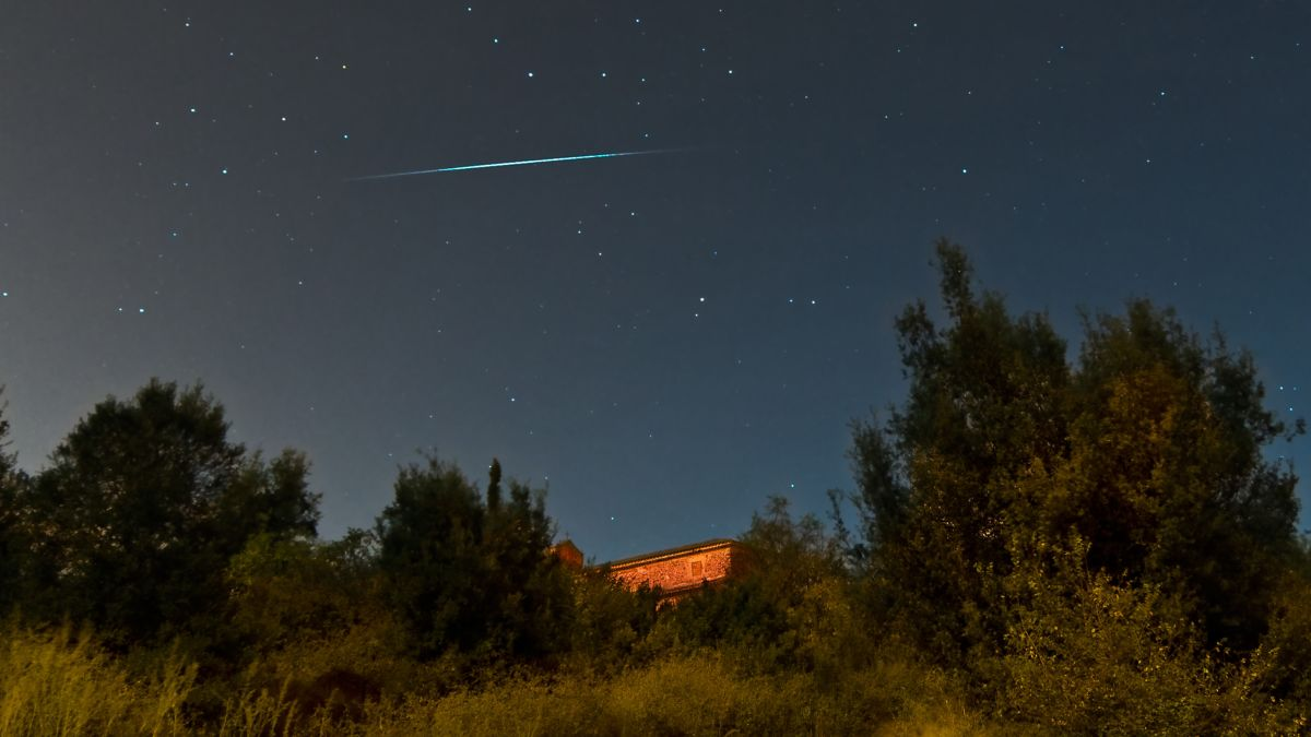 How to catch the dracaena meteor shower tonight