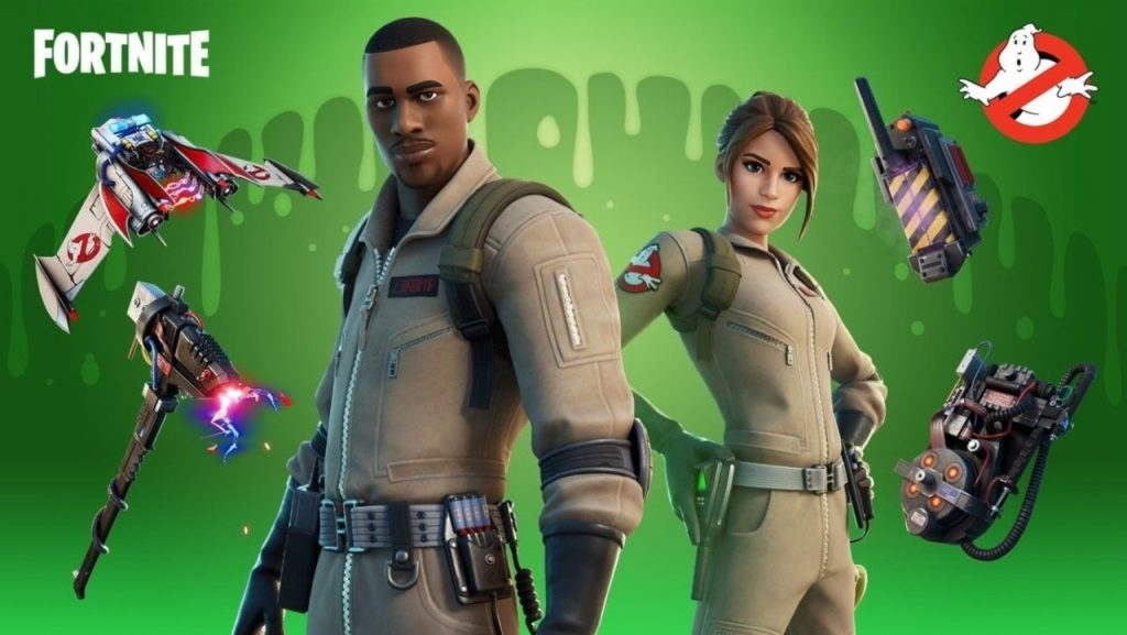 How to obtain Ghostbuster Skins