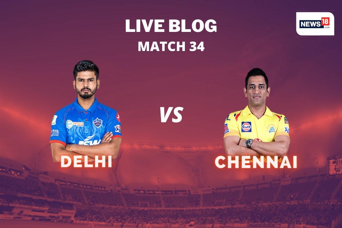 IPL 2020 Live Score, DC vs CSK Match Today in Sharjah: Shekhar Dhawan reaches fifty