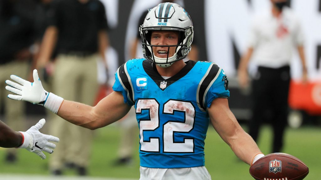 Is Christian McCaffrey playing Thursday night? Panthers-Falcons fictional injury update