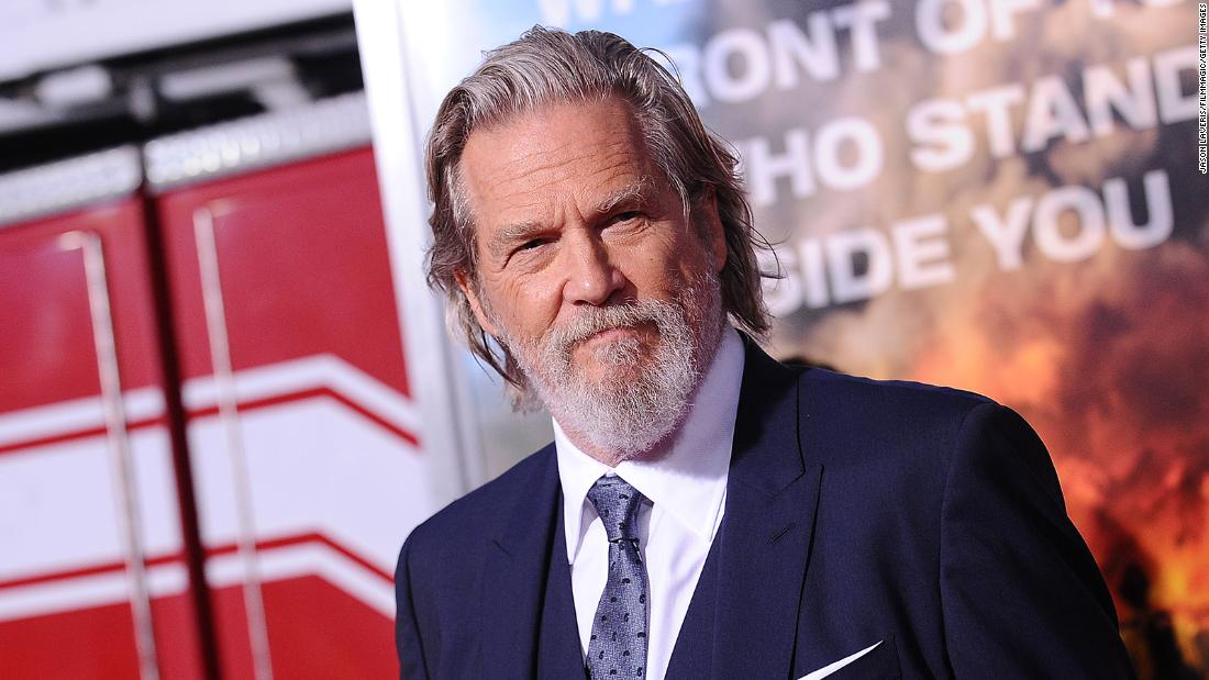 Jeff Bridges announced that he had lymphoma