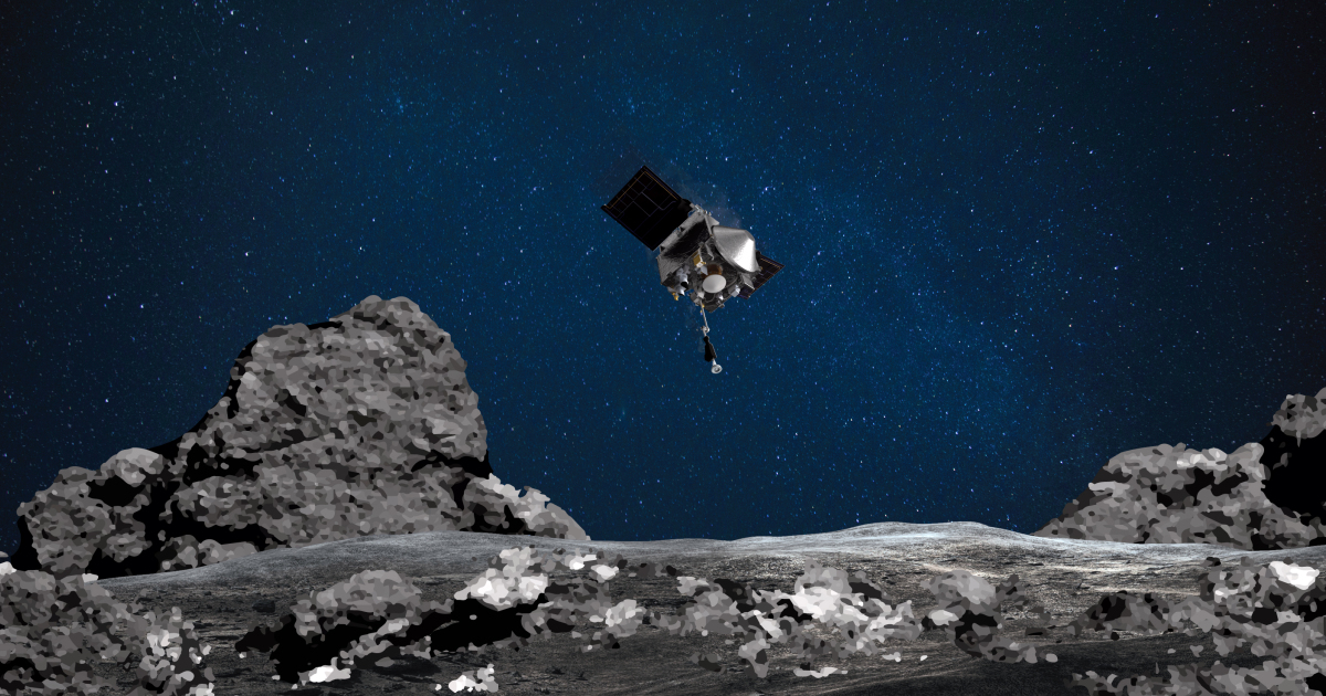 NASA OSIRIS-REx snatches rocks from an asteroid on historic mission |  The United States and Canada