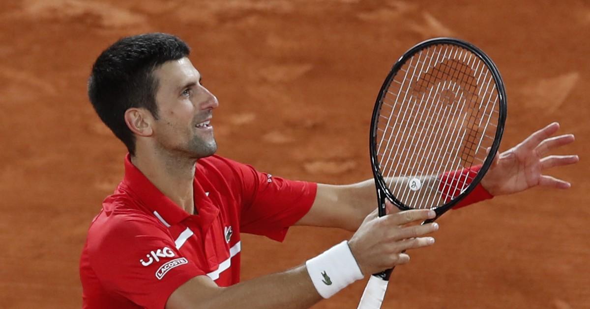 Novak Djokovic wins five sets in the French Open semi-finals