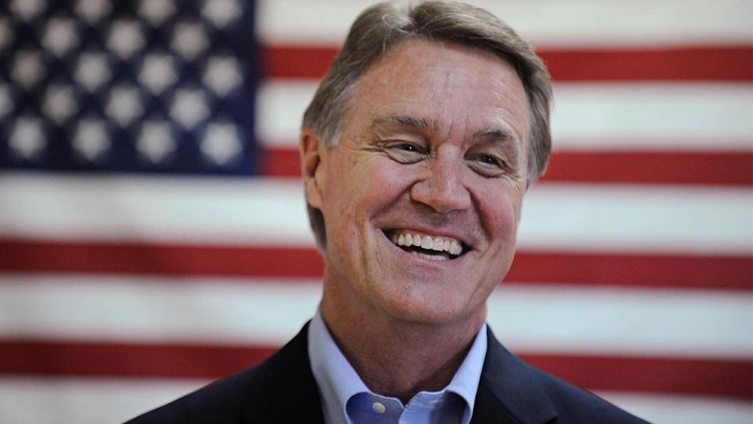 Republican Senator David Purdue makes fun of Kamala Harris' name