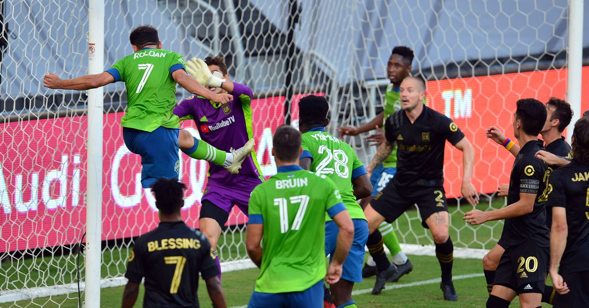 Sounders at LAFC, full-time: Shorthanded LAFC win 3--1