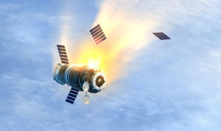 """Space catastrophe: Russian and Chinese space junk is at """"extremely high risk"""" from high speed crashes Science 