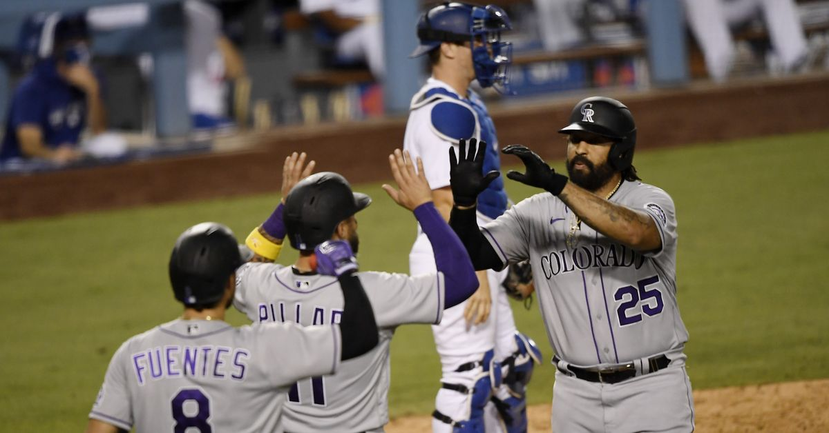 The 2020 Dodgers lost only one series throughout the season.  Congratulations, Rockies