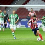 The report of the LaLiga match Atletico Madrid and Real Betis