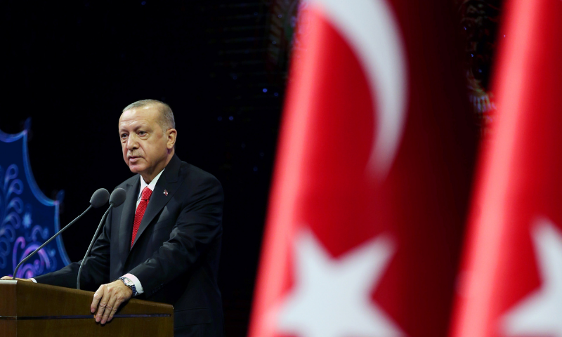 Two weeks later, Turkey condemns the beheading of the French language teacher even as Erdogan joins the call for a boycott of goods – the world