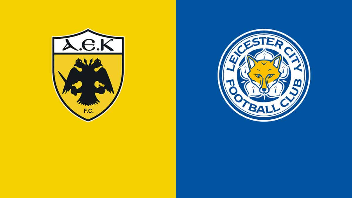 Where to find AEK Athena vs. Leicester on American TV and Live Streaming