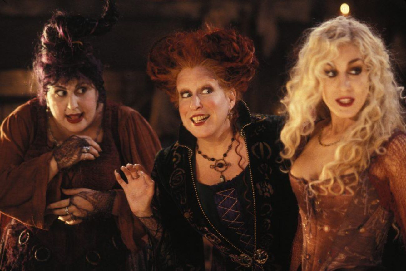 Pete Medler, Sarah Jessica Parker and Cathy Nagemi in Hocus Pocus Walt Disney Pictures