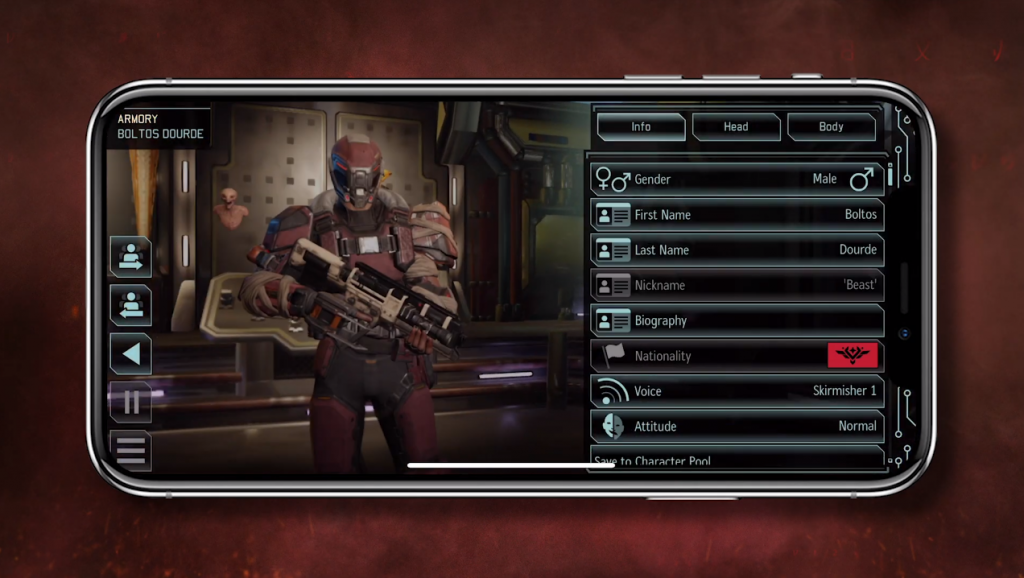 XCOM Group 2 on Mobile: iOS in November, Android in 2021