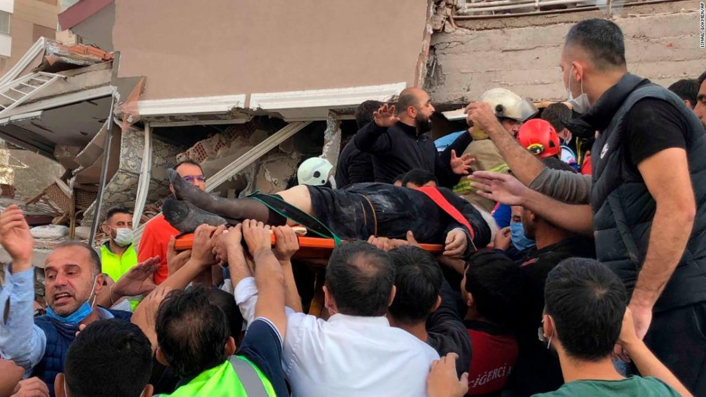 Turkey and Greece earthquake: Rescuers have pulled more than 100 survivors from the ruins of Izmir