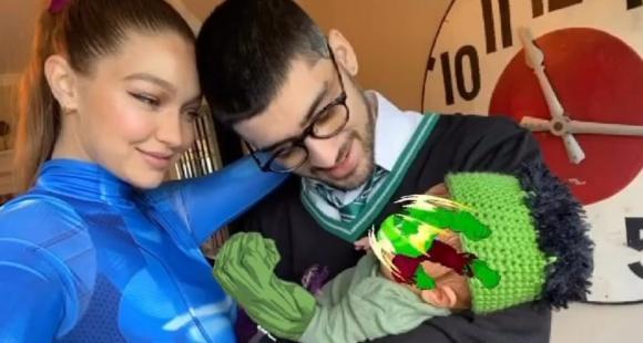 Zayn Malik, Gigi Hadid Unveils Halloween Costume 2020; Baby ZiGi wrapped up the role of Hulk in a perfect family photo