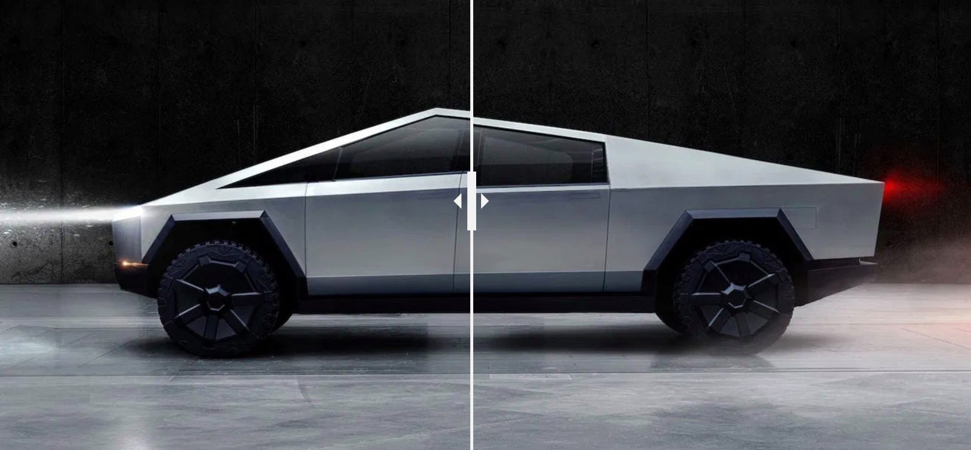 Tesla unveils updated Cybertruck electric truck design in 'a month or so'