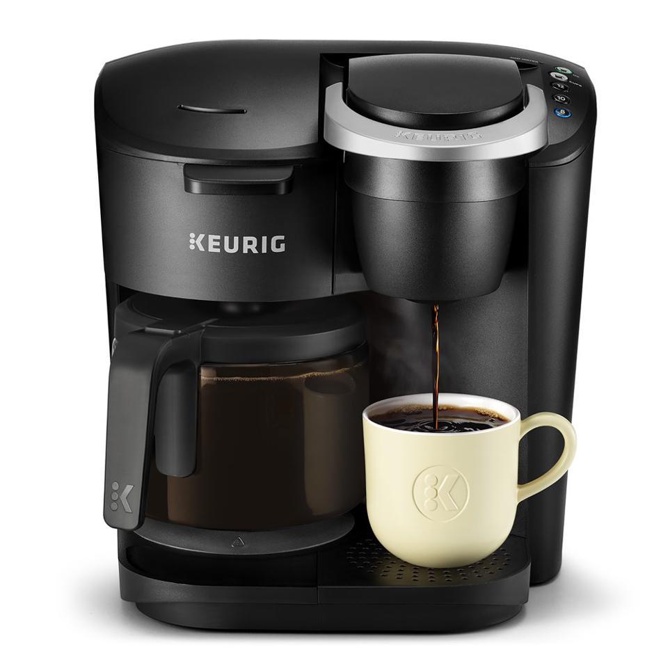 Stylish K-Duo Essentials coffee maker