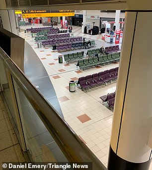 Gatwick airport today