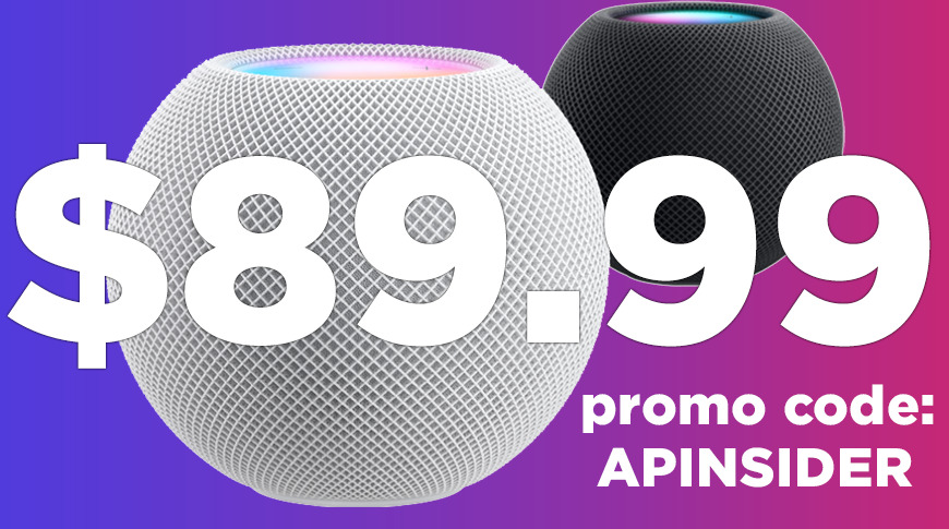 Best pre-order deal for HomePod mini: $ 89.99 lowest price
