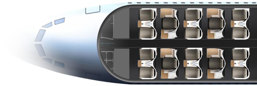 Thompson Aero Vantage layout