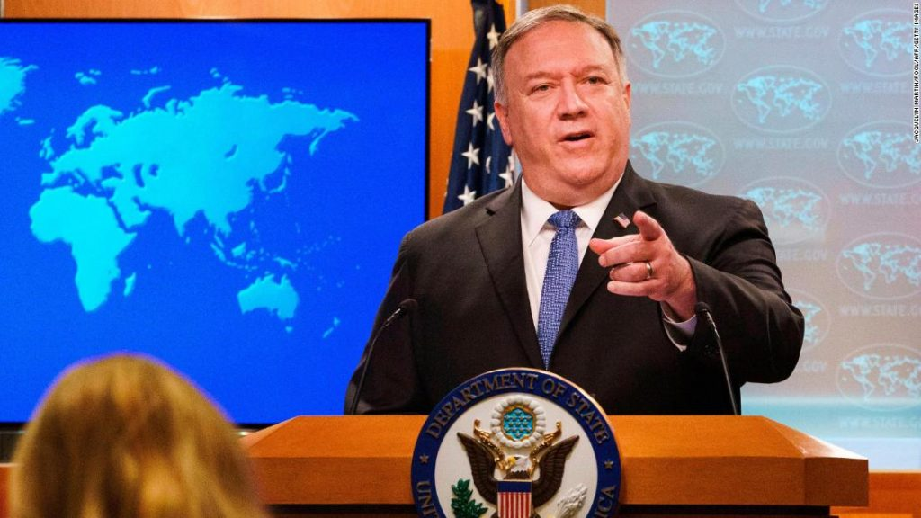 """Pompeo refuses to acknowledge Biden's election victory, sparking anger and """"disgust"""" among diplomats"""