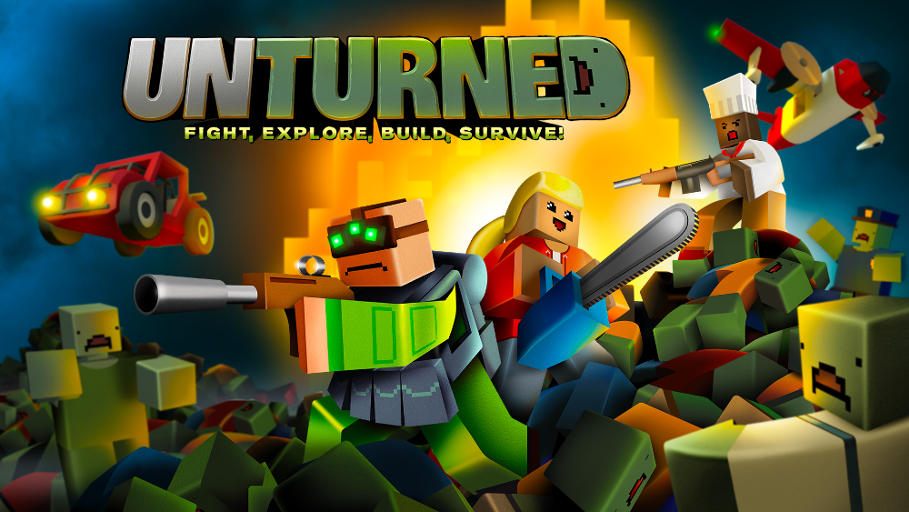 UNTURNED brings zombie-fueled open-world survival game to the Xbox One and Series X | S and PS4