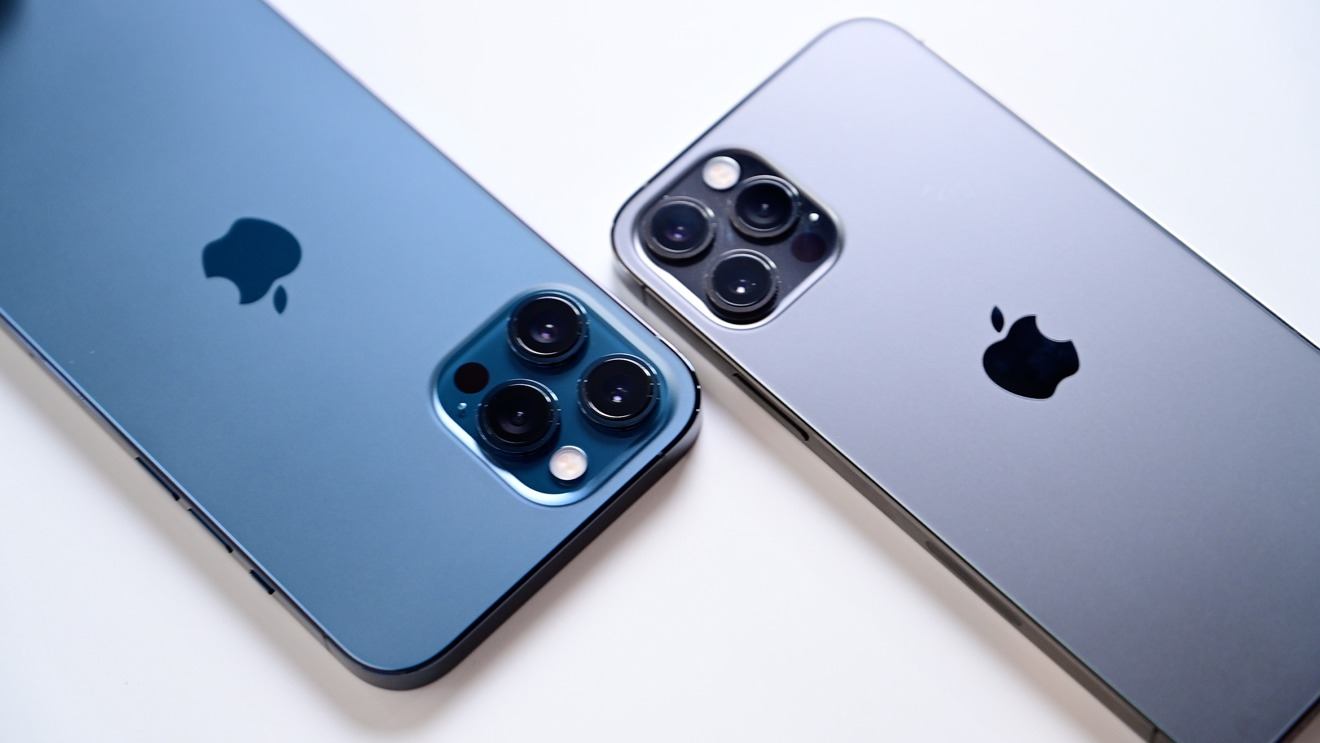 Comparison of iPhone 12 Pro Max and iPhone 12 Pro camera modules