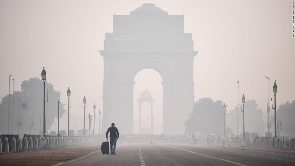Northern India suffocates in toxic smog the day after Diwali