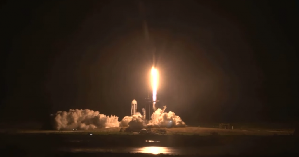 SpaceX, NASA launches the Crew-1 mission on a historic trip to the International Space Station