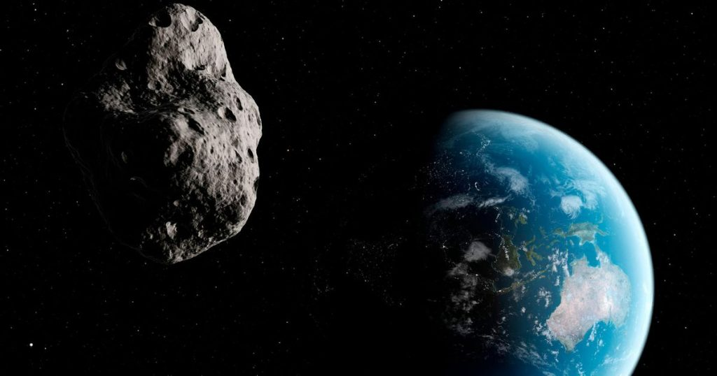 A small asteroid is even closer to Earth than the satellites of SpaceX Starlink