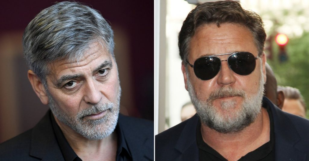 """Who Thinks It Is?"": George Clooney revealed the details of his old feud with Russell Crowe"
