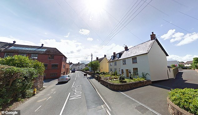 This is a generic photo of Williton in Somerset, where the little boy drowned. This photo does not show the house he died in