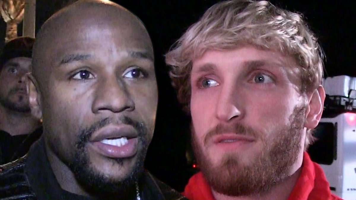 Floyd Mayweather says he's going to fight Logan Paul, I'll smash you like MacGregor