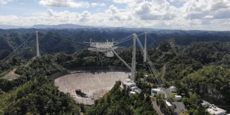 The Arecibo Big Dish has reached the end of the line