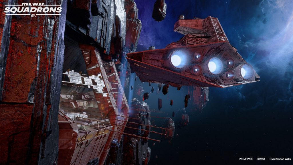 Star Wars: A Squadron Test Brief reveals a new map and two new Star Warships